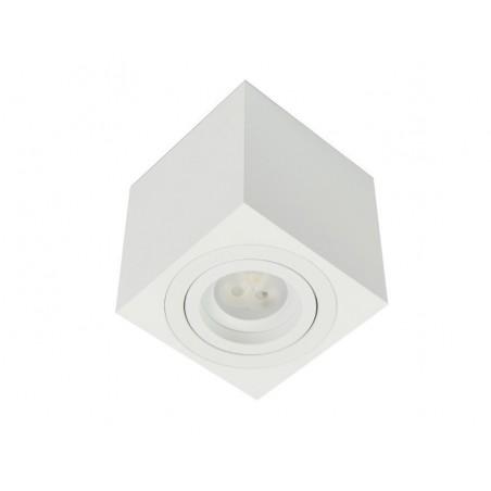 Foco de superficie cuadrado Kup GU10 50W max. de BPM Lighting
