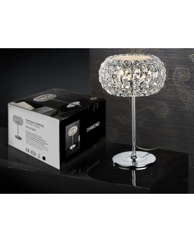Sobremesa Diamond 3xG9 Led 4W de Schuller