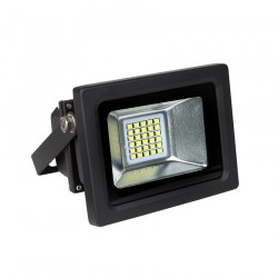 Proyector Exterior Led extraplano negro 6000K