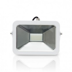 Proyector Exterior Led extraplano blanco 6500K