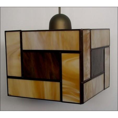 Colgante 957 Vidrio, 20x20 de Eduardo Artesania
