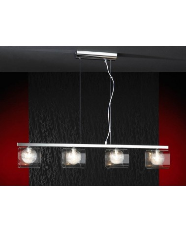 Lampara Eclipse 4L 4xG9 Led 4W de Schuller
