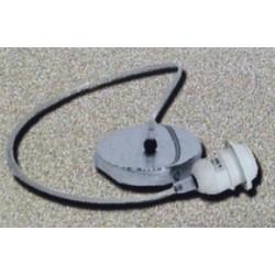 Pendel E27 80cm cable Niquel