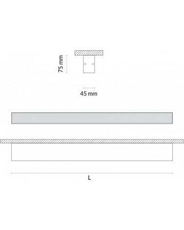 Luminaria de Superficie 45mm Led de Tromilux