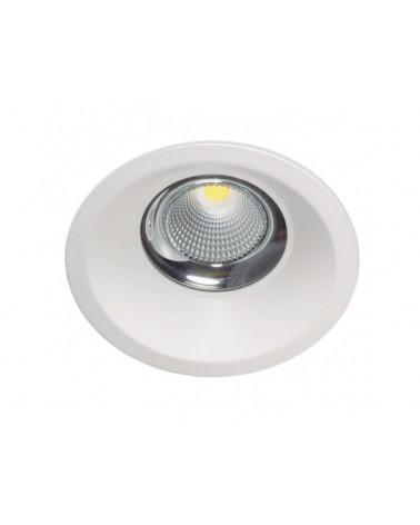 Empotrable Dara redondo blanco IP44 de Kohl Lighting
