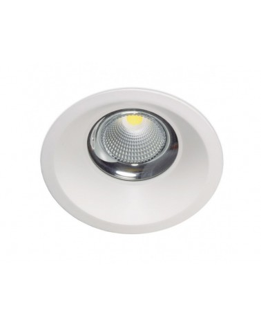 Empotrable Dara redondo blanco IP44 de Kohl Lighting