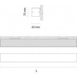Luminaria de Pared Lineal Led 65mm de Tromilux