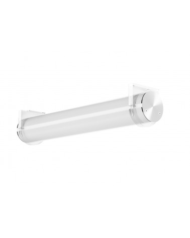 Luminaria Tubular Led de Superficie 80mm IP43 de Tromilux