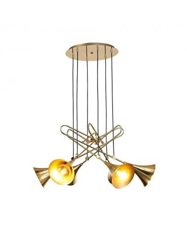 Lámpara colgante Jazz  6L de Mantra