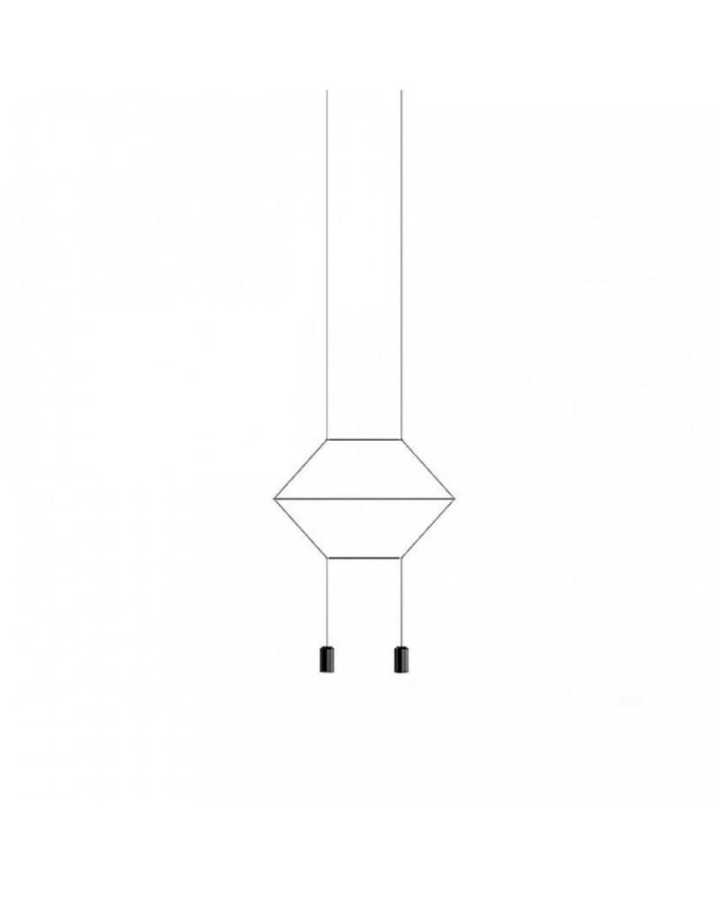Colgante Wireflow Lineal 2L de Vibia