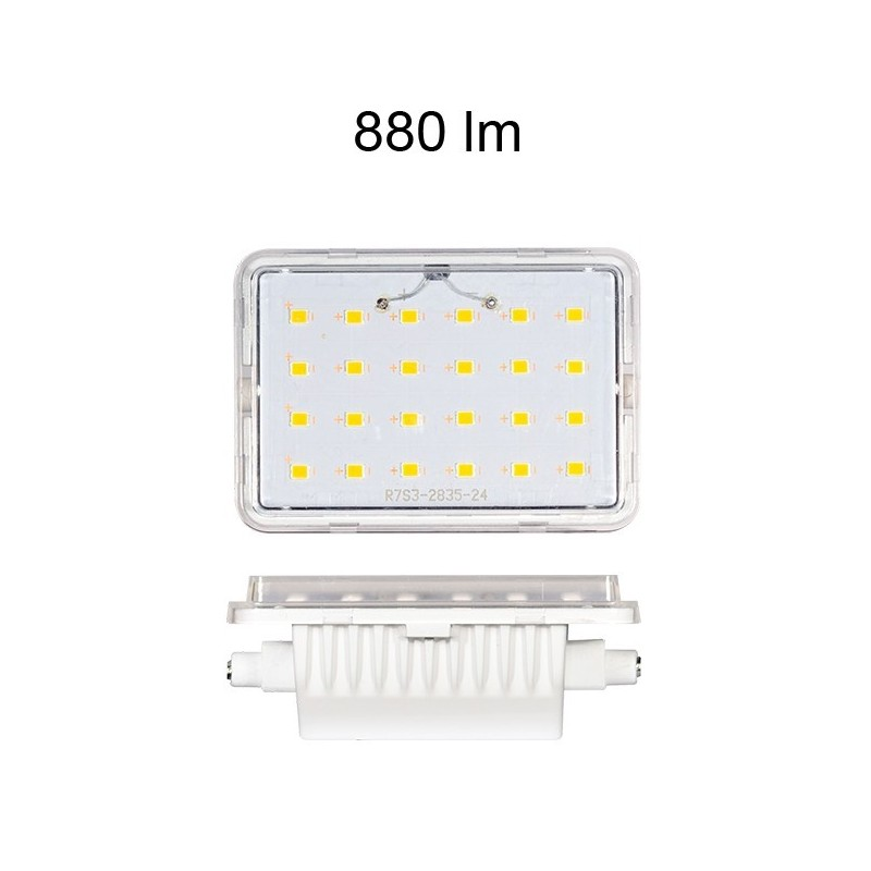 Beneito Faure Bombilla Led Lineal R7s 78mm 9W 3000K
