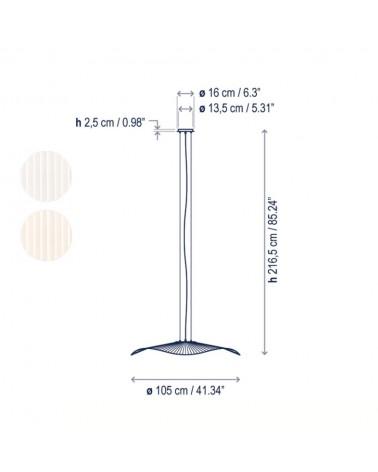 Lámpara colgante Mediterrània S/105/01 de Bover