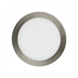Downlight Empotrable Led Circular 18W Niquel satinado