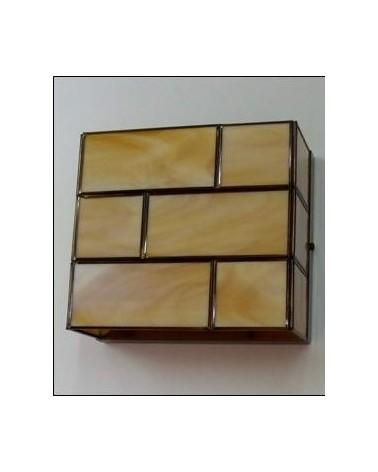 Aplique 953-1 Vidrio 20x18 de Eduardo Artesania