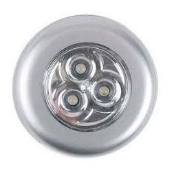 Push Light Led Plata