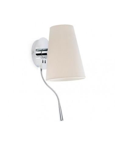 Aplique con Lector LED Lupe diseñada por Jordi Busquets de Faro