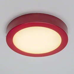 Plafon Superficie Led 18W Redondo marco colores