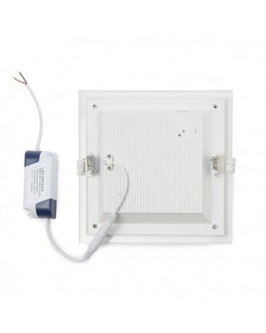 Downlight de LEDs Cuadrado con Cristal 12W