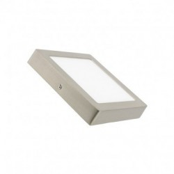 Plafon Superficie Led 18W Redondo marco blanco