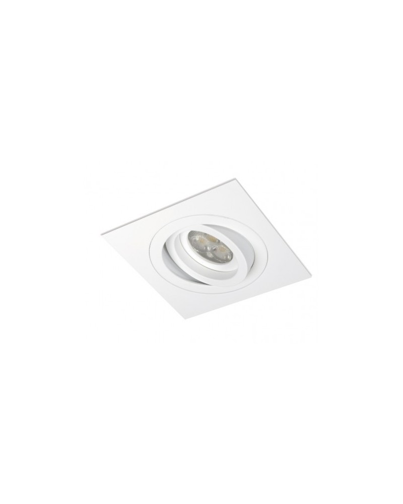 Empotrable Mini Catli Cuadrado Aluminio 1 luz de BPM Lighting