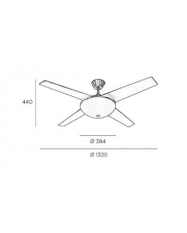 Ventilador Aukena diseñado por Estudi Ribaudí