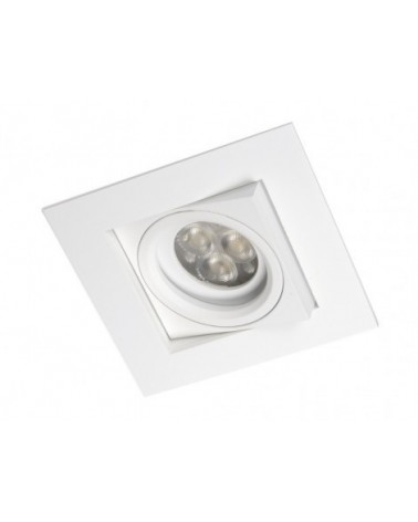 Empotrable cuadradu Care Blanco 1 luz de BPM Lighting