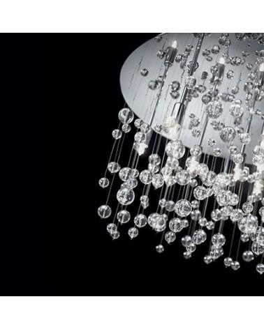 Lámpara de techo Neve PL8 Ideal Lux