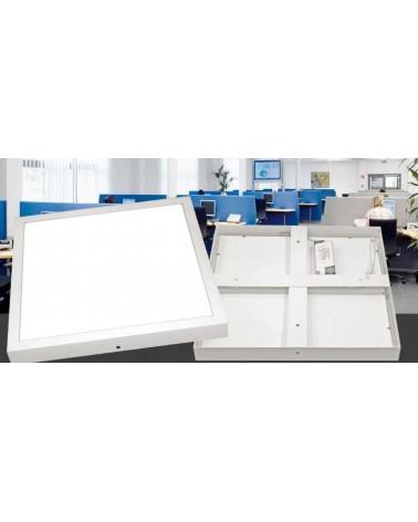 Plafon Superficie Led 40W marco blanco 4500K 500x500mm
