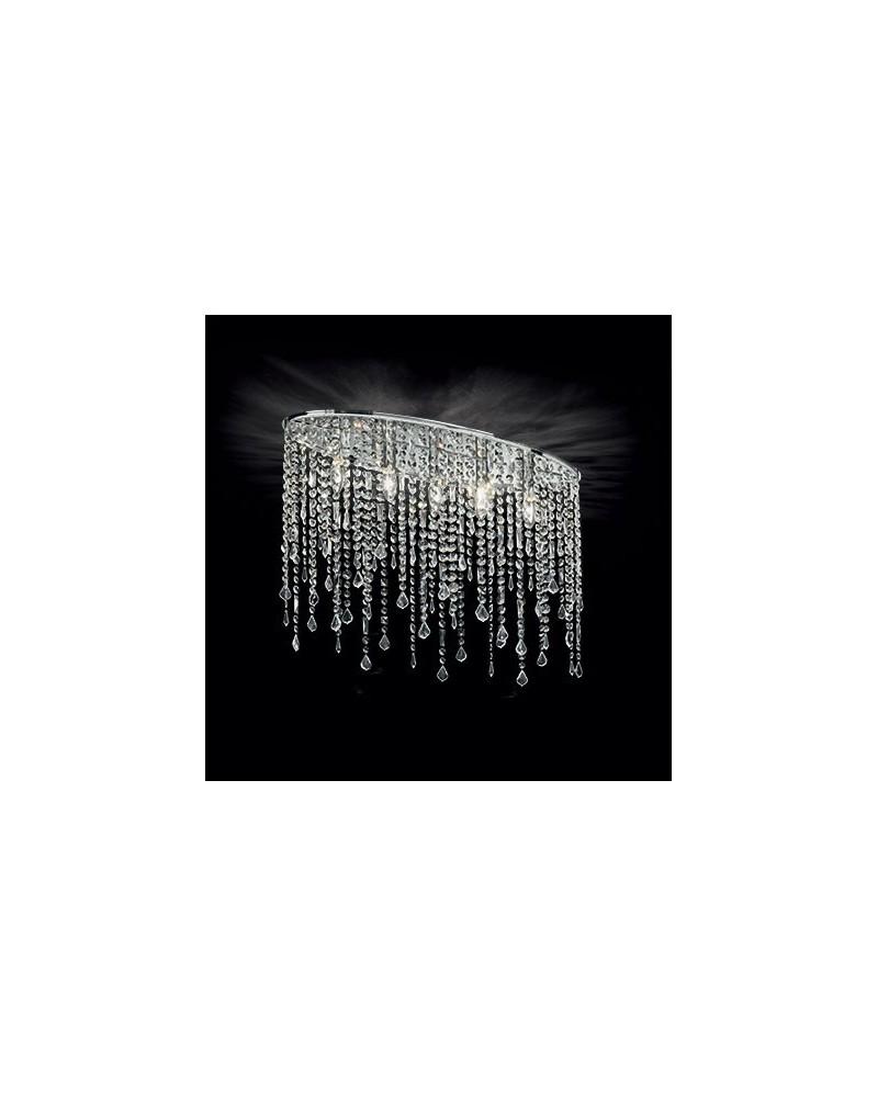 Plafones Rain PL5 de Ideal Lux