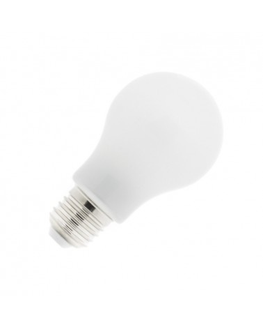 Lampara LED E27 8W Blanco Calido Cristal
