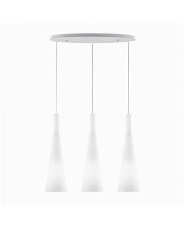 Colgante Milk SP3 de Ideal Lux