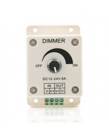 Dimmer para Tiras de LEDs 12-24VDC hasta 96/192W