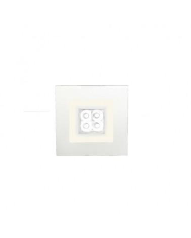 Empotrable Focus 6W doble iluminacion Led de Cristalrecord