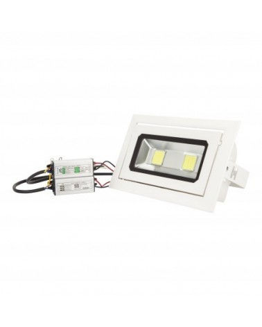 Foco Led Empotrable Blanco COB 40W 3600LM 4000K