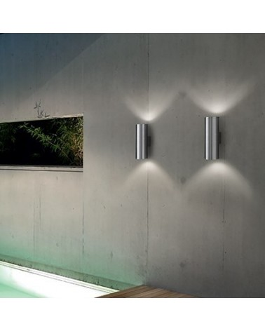 Aplique de exterior Gun AP2 Big de Ideal Lux