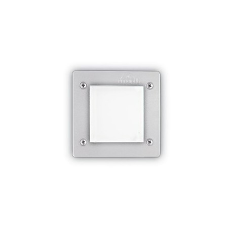 Foco empotrado de exterior Leti Square FI1 de Ideal Lux