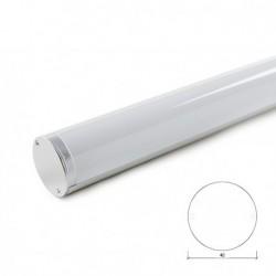 Perfil de Aluminio Suspendido Redondo Ø34 x 1012mm 22W